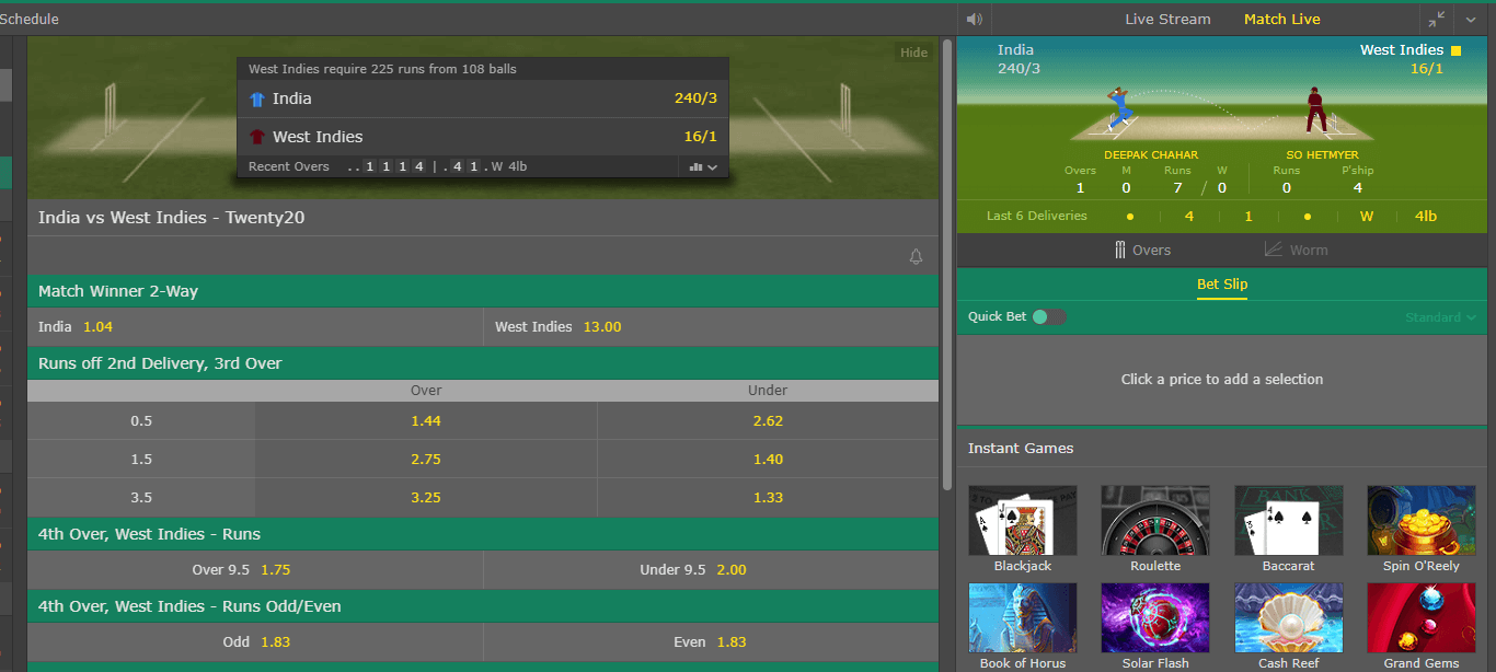 How to bet on bet365 cricket betting gods horse racing guru gossip